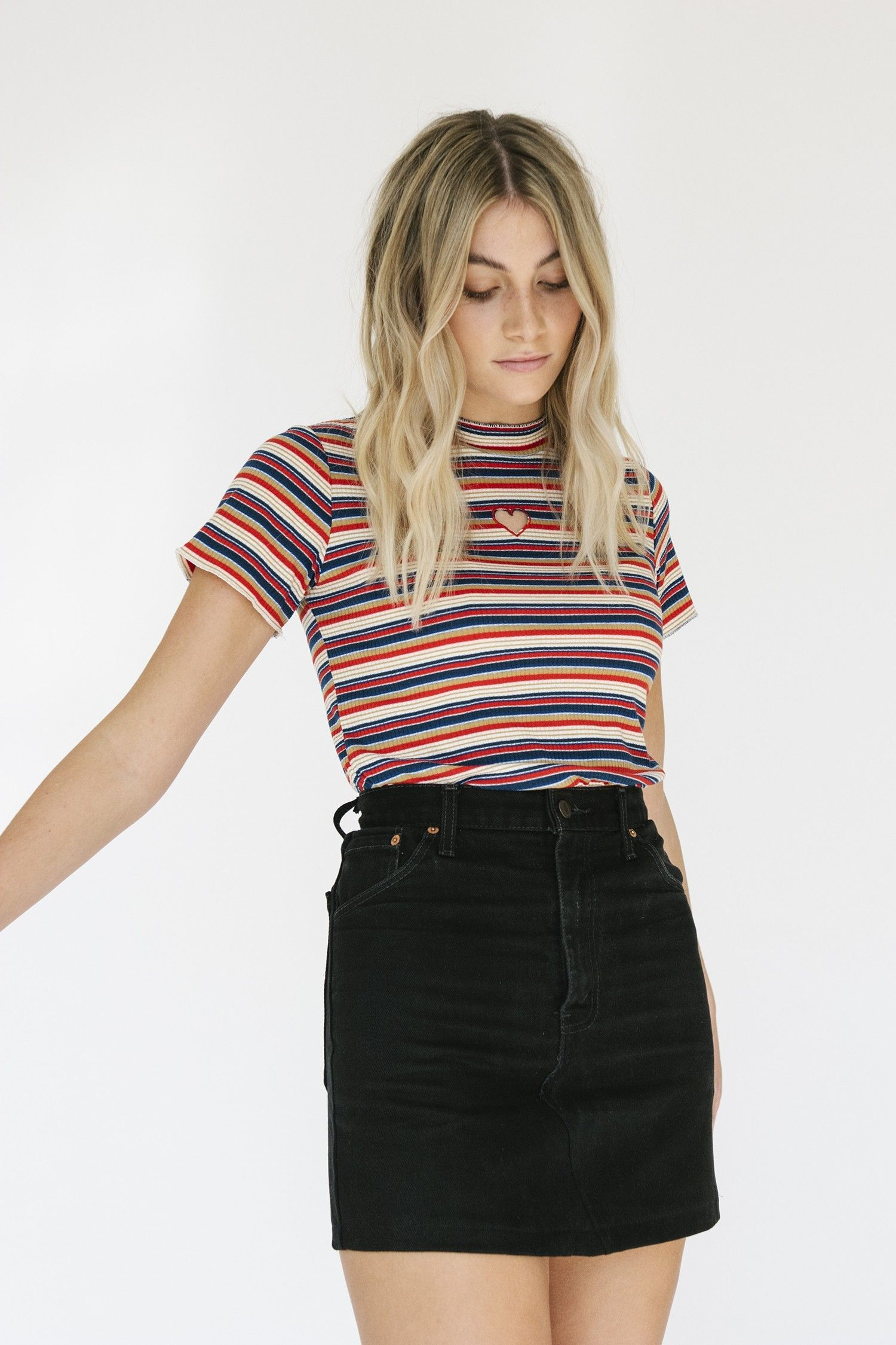 01f878401d4e LAS VEGAS BLACK LEVI'S DENIM SKIRT - ARIZONA VINTAGE | Clothes ...
