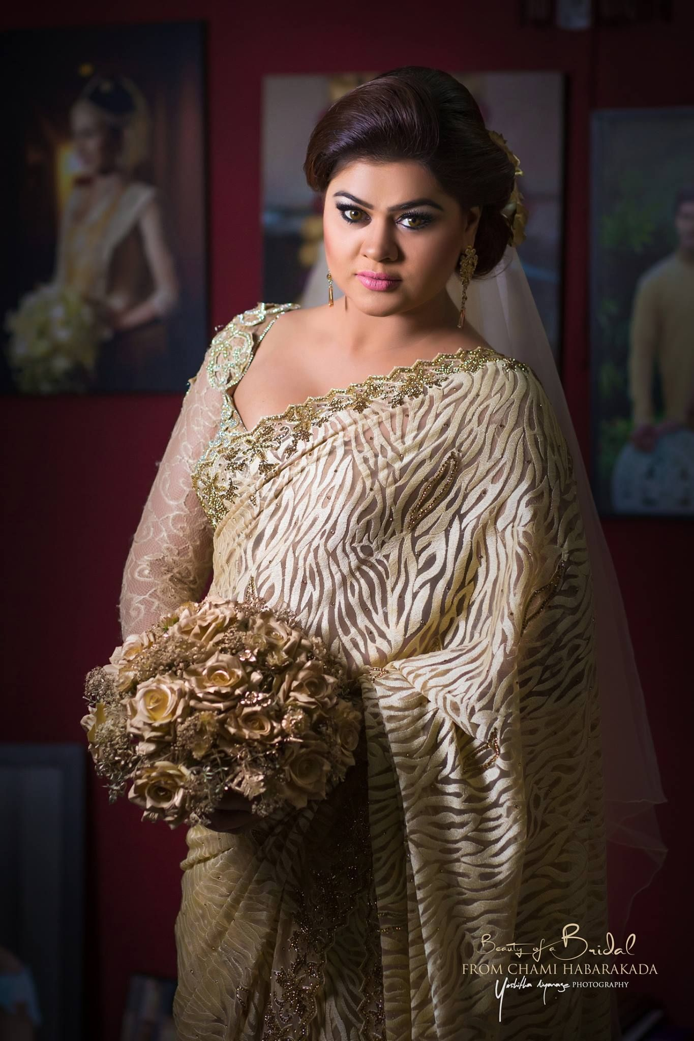 Bridal Dresser Chami Habarakada Sri Lanka
