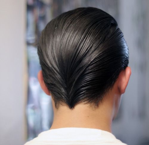 Pin By Wolfgang Bach On A0 Ubx Slick Hairstyles Sleek Back Hair Slicked Back Hair
