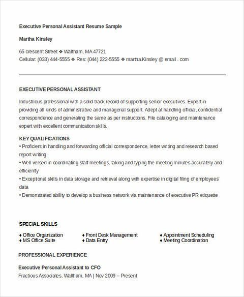 Some Important Tips To Have The Best Executive Assistant Resume
