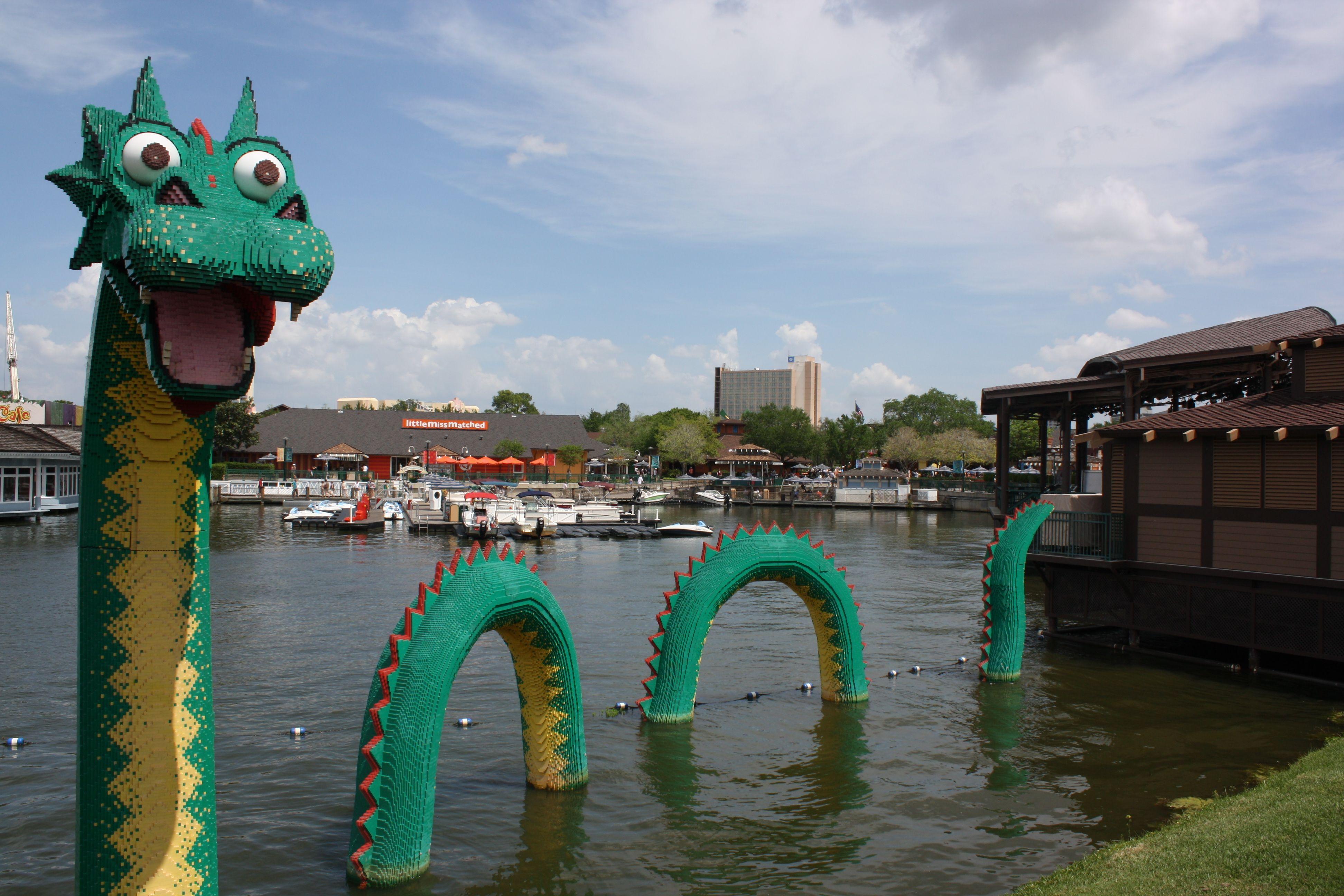 Lego Sea Monster Downtown Disney