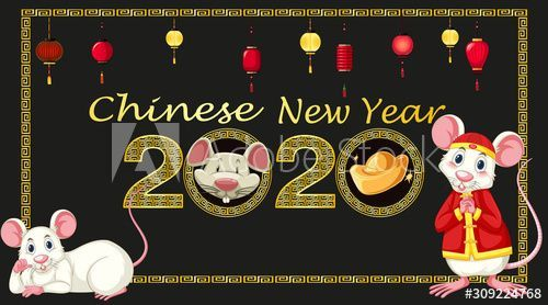 Happy Lunar New Year 2020 Decor & Happy Lunar New Year 2020 #happynewyear2020quotes