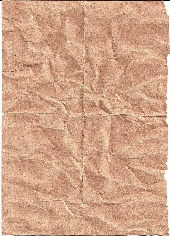 Crumpled and Folded Paper Textures