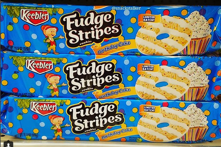 Keebler Fudge Strips Birthday Cake Flavor