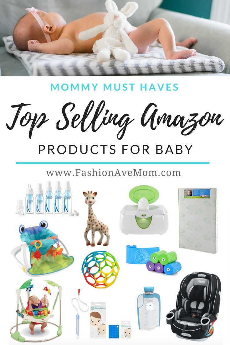 Top Selling Amazon Products For Baby - FashionAveMom  Baby items