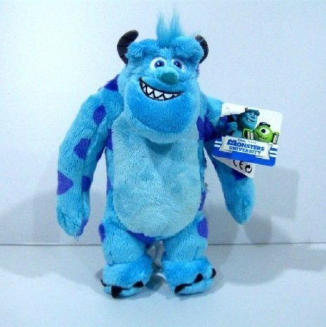 "Monsters Inc. James P. Sullivan Plush Toy sully 28cm/11"" gift for children gift $18.5 free shipping"
