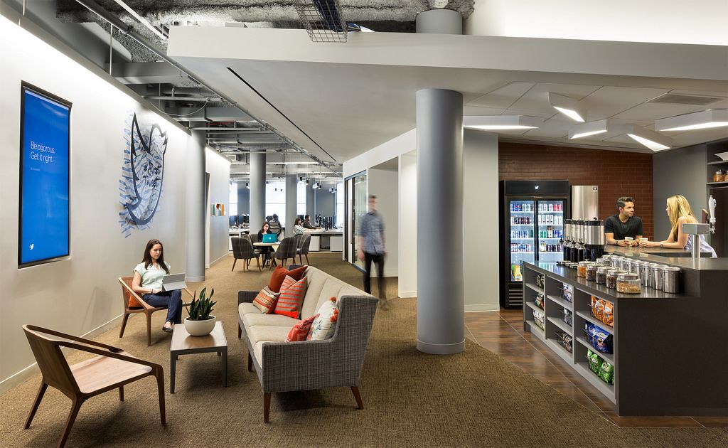 The @TwitterNYC office in New York City, NY.   Image copyright Chris Cooper for Twitter, Inc.