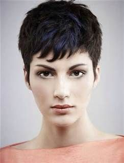 pixie haircuts for thick hair  bing images  super short