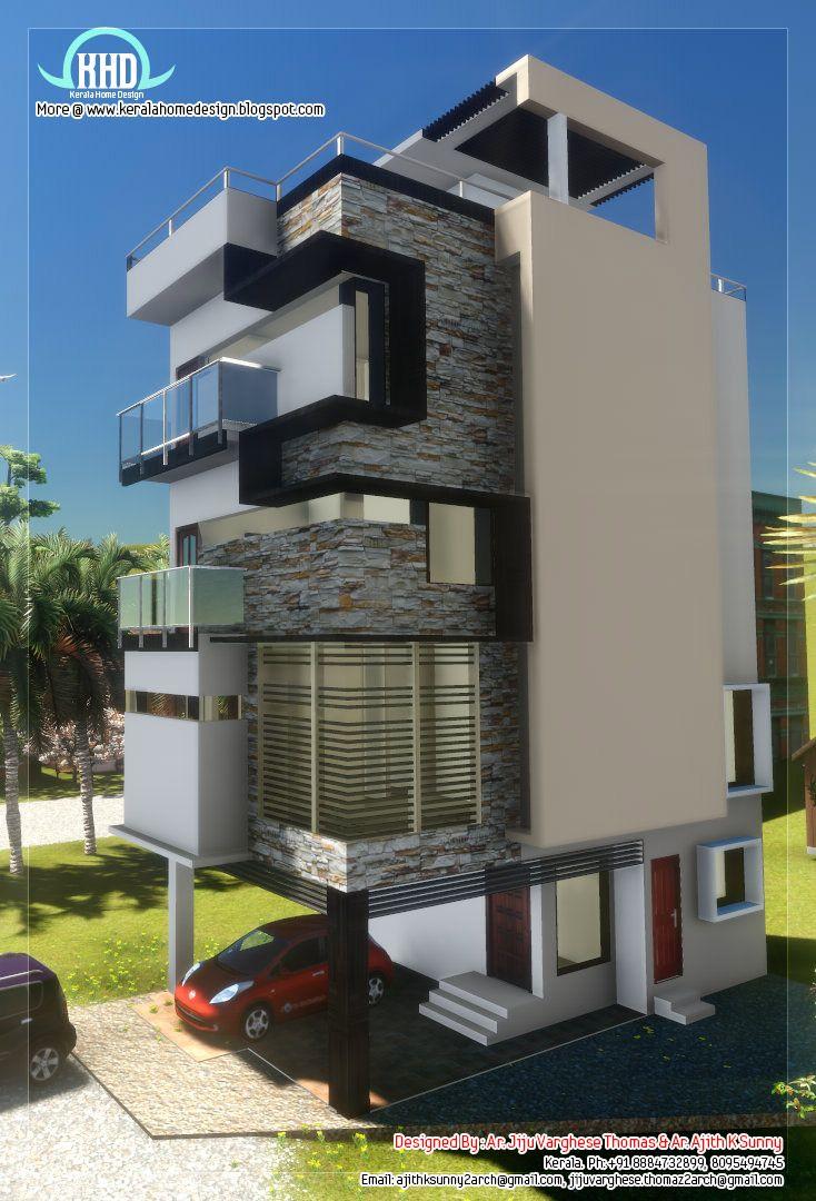 Narrow Home Design 01 (734×1080)