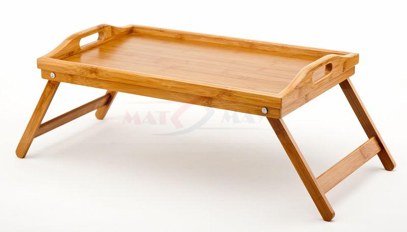 Tacastolik Do łóżka Stolik Pod Laptopa Bambusowy Domek