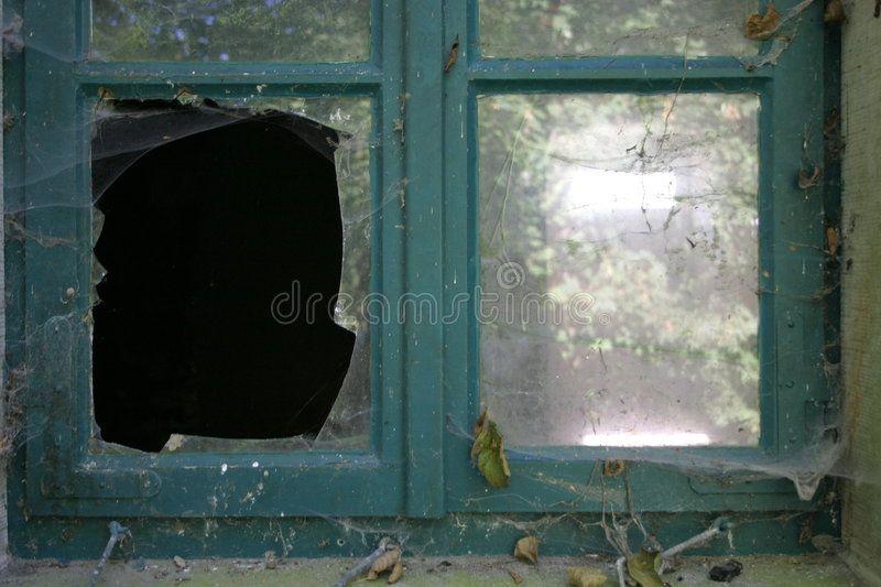 Broken Pane An Old Broken Window Spon Pane Broken Window Broken Ad Window Glass Replacement Glass Replacement Broken Window