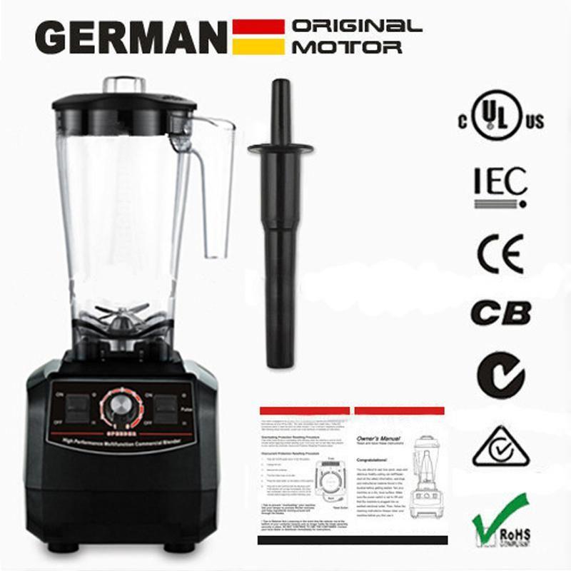 Euukusau plug 3hp bpa free commercial grade smoothies