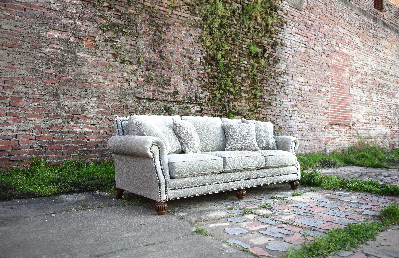 Mayo Furniture 4300 Fabric Sofa Carmel Tweed Furniture