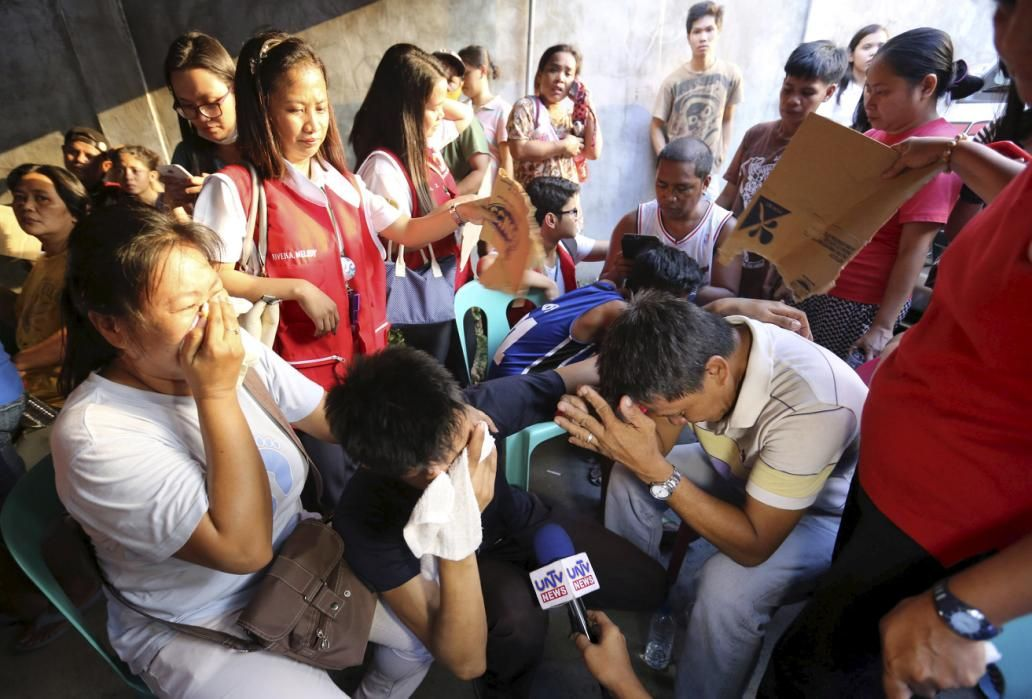 Deadly slipper factory fire in manila philippines