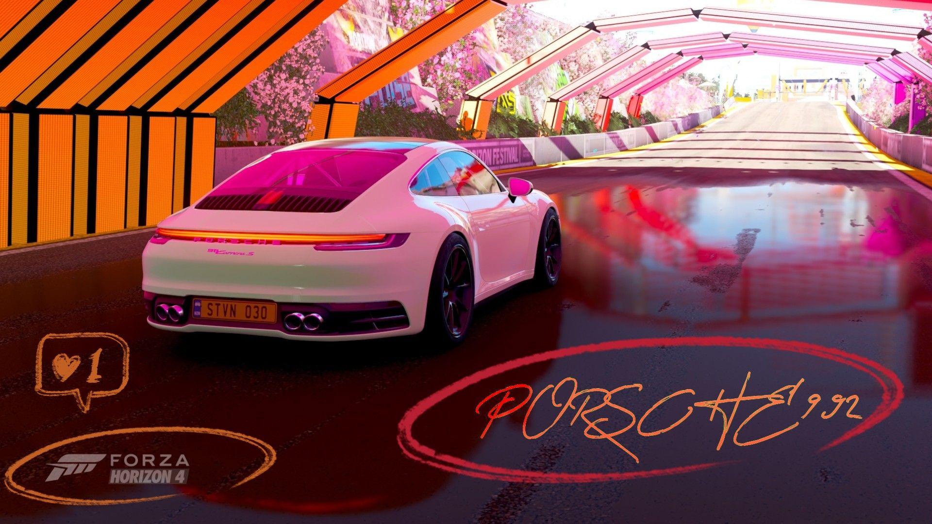 Porsche 992 4k Carporn Fh4 Porsche 911 S Porsche 911 Porsche