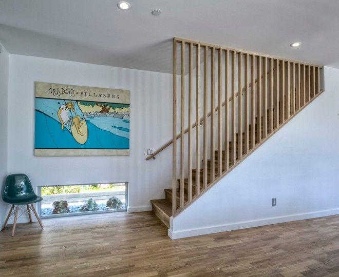 Best Bright Stair Balusters Technique San Diego Midcentury 640 x 480