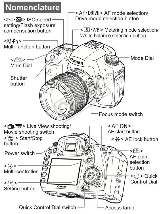 Tutorial  How To Custom Configure Your Canon Eos 7d