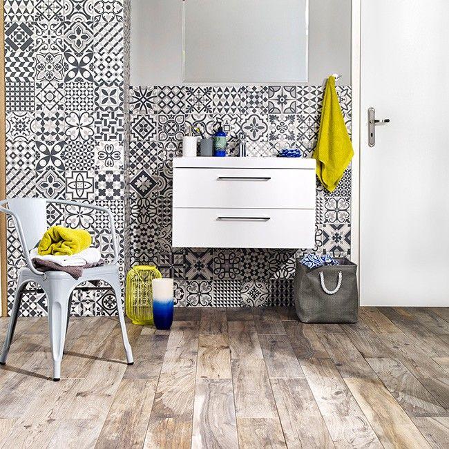 Gres Heritage 33 15 X 33 15 Cm Czarny 1 32 M2 Gres Bathroom Inspiration Vanity Heritage