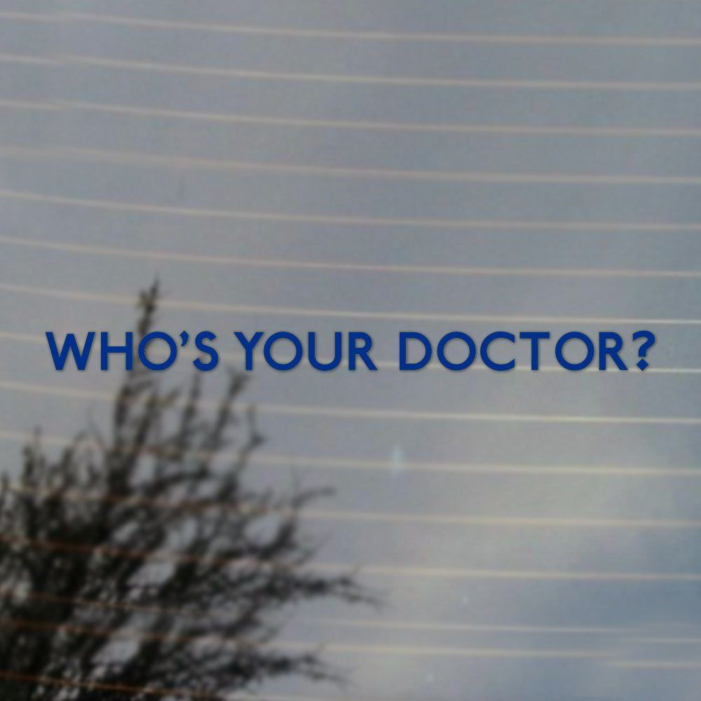 Mlpiceking whos your doctor doctor who vinyl decal anime cosplay