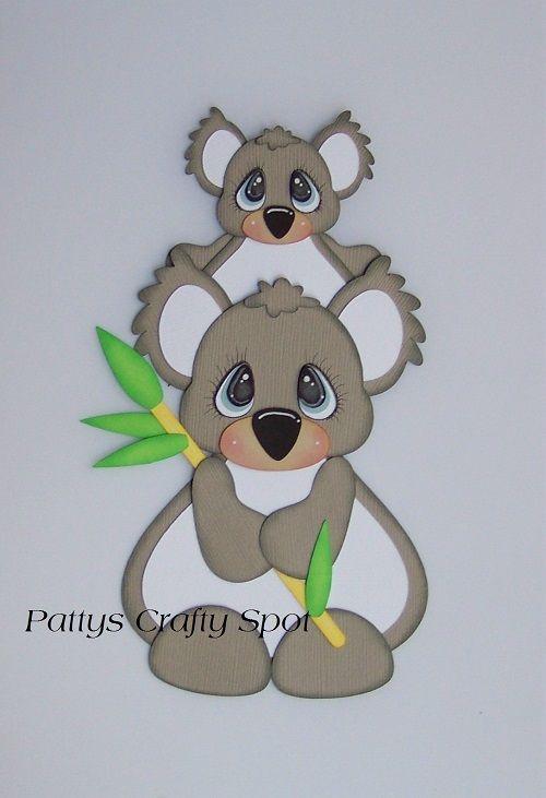 Tiny Treasures Koala | DIBUJOS PARA TARJETAS 2 | Pinterest