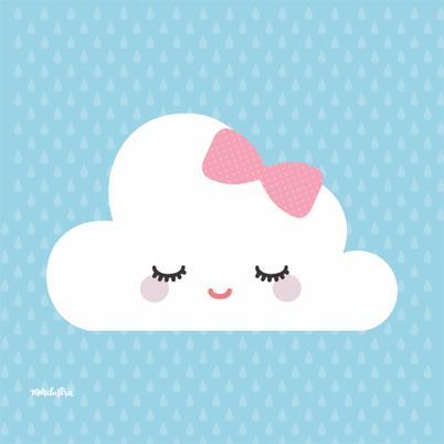 nuvem com lacinho fofos pinterest chuva nuvem e chuva de amor