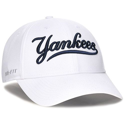 New York Yankees Dri-FIT Swoosh Flex Stretch Fit Cap by Nike - MLB.com Shop 105b6977afa