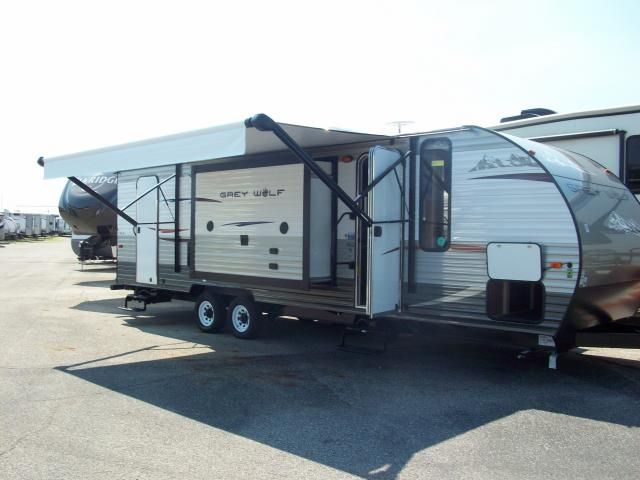 New 2014 Forest River Grey Wolf 26c Travel Trailer All Seasons