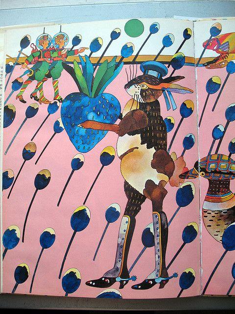 1971, Heinz Edelman, Strawberry Bomber
