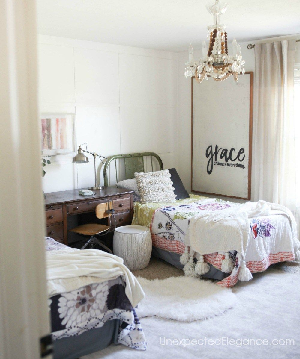 Creative Bedrooms That Any Teenager Will Love: Little Girl Room Decor Ideas