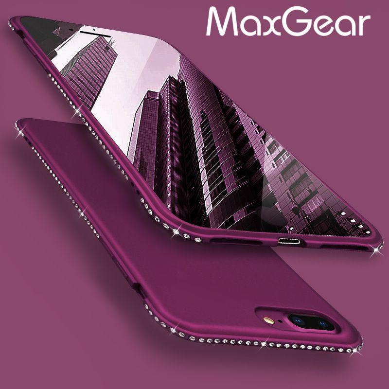 Custodia Samsung Galaxy S5 Apple Iphone 6 Plus Lusso Strass Ultra