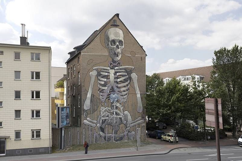 Les Derniã Res Peintures Murales De Aryz Street Art