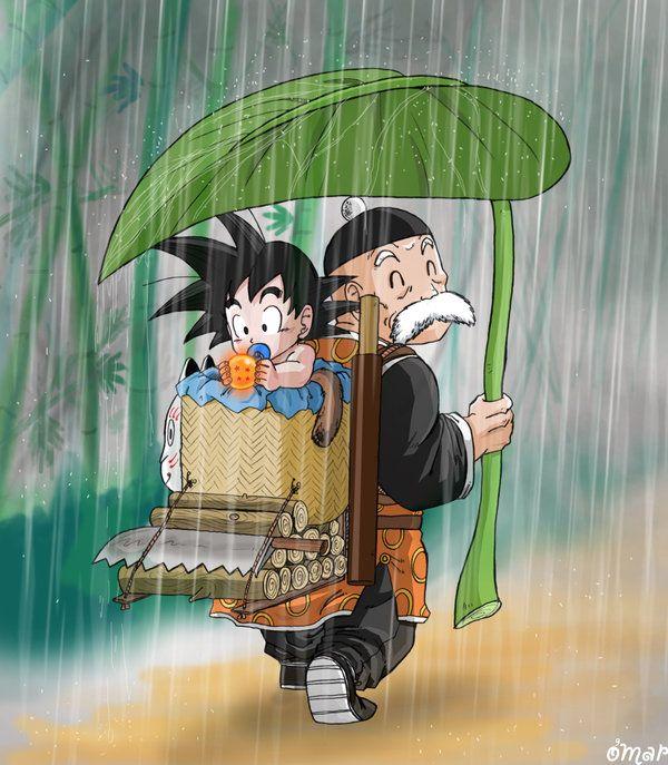 Under Paozu rain by OmaruIndustries on DeviantArt