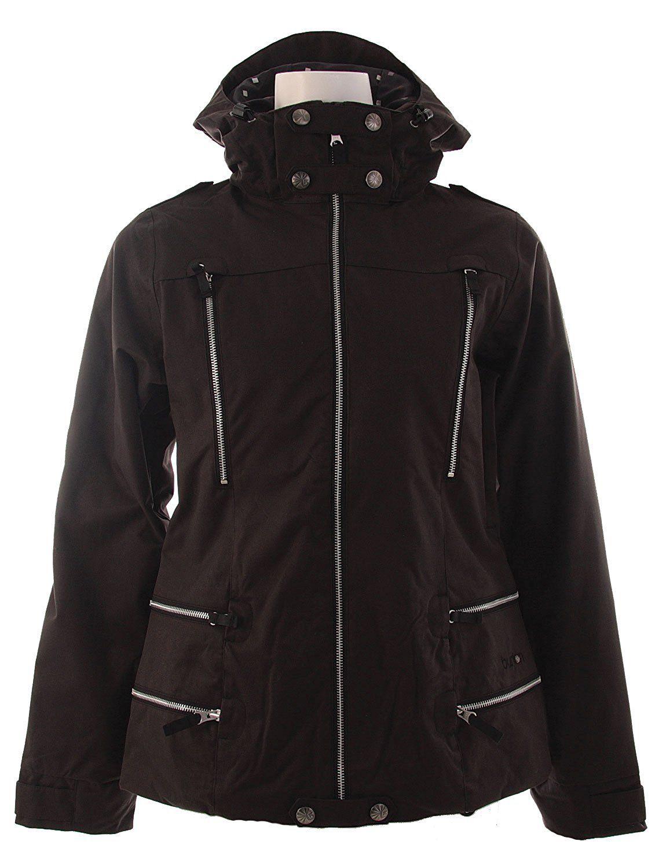 Burton Elevation Snowboard Jacket True Black Womens * Click image for more details.