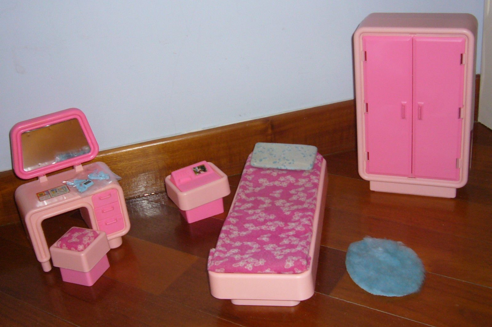 Camera Da Letto Vintage Anni 70 : Camera da letto bedroom barbie superstar mattel doll bambola