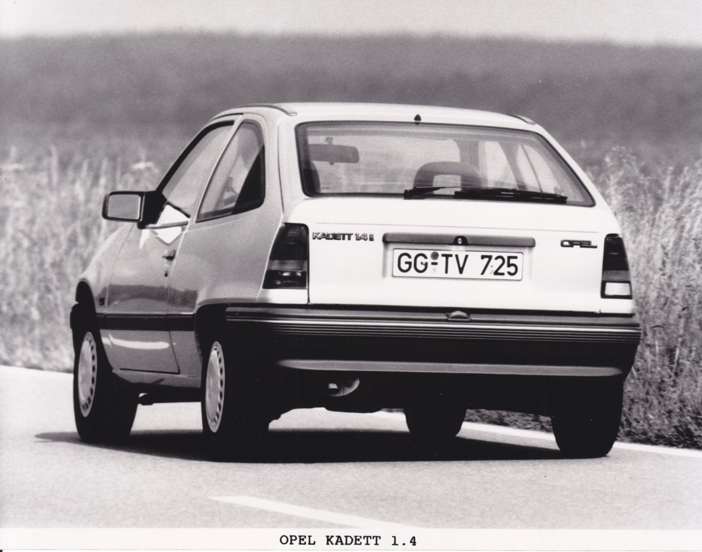 Opel Kadett 1 4 1990 Vauxhall Car Manufacturers Opel