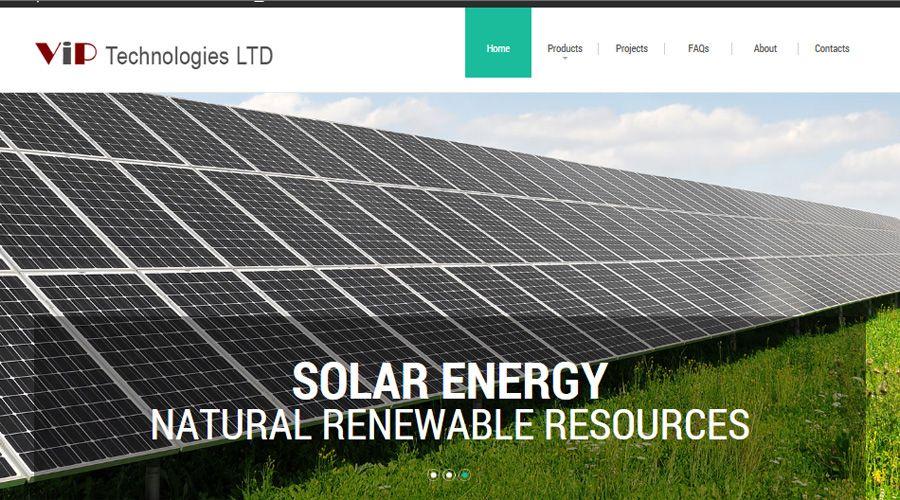 Website Project Vip Technologies Cyprus Security Systems Alarms Access Control Gate Garage Door Automation Solar Ene Solar Solar Energy Roof Solar Panel