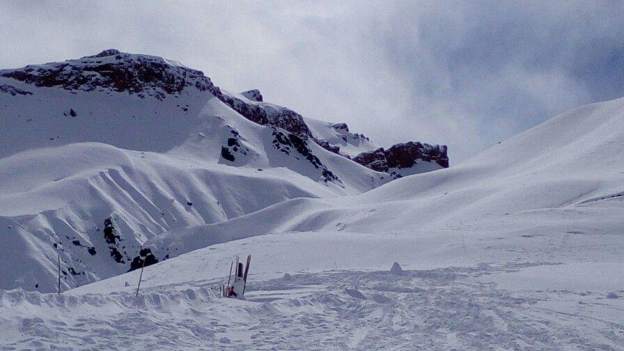 Nieve en Mendoza, más que hermoso