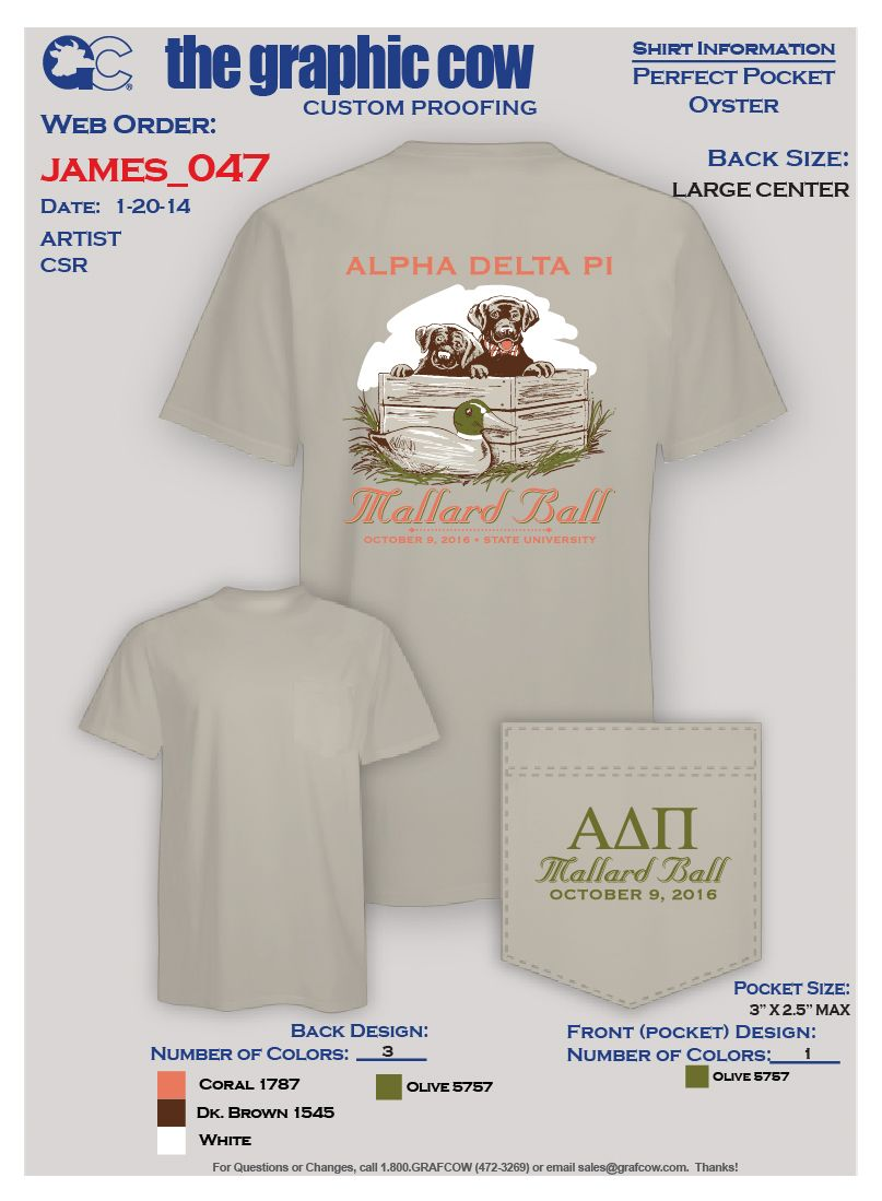 Alpha Delta Pi Labrador Retriever Puppies design by James