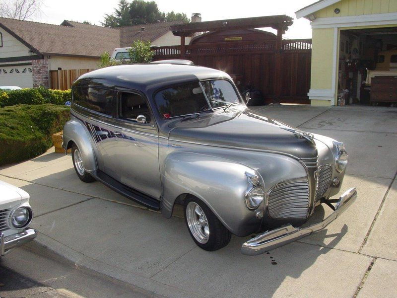 1941 Plymouth Panel Delivery for sale - Orange, CA | OldCarOnline ...