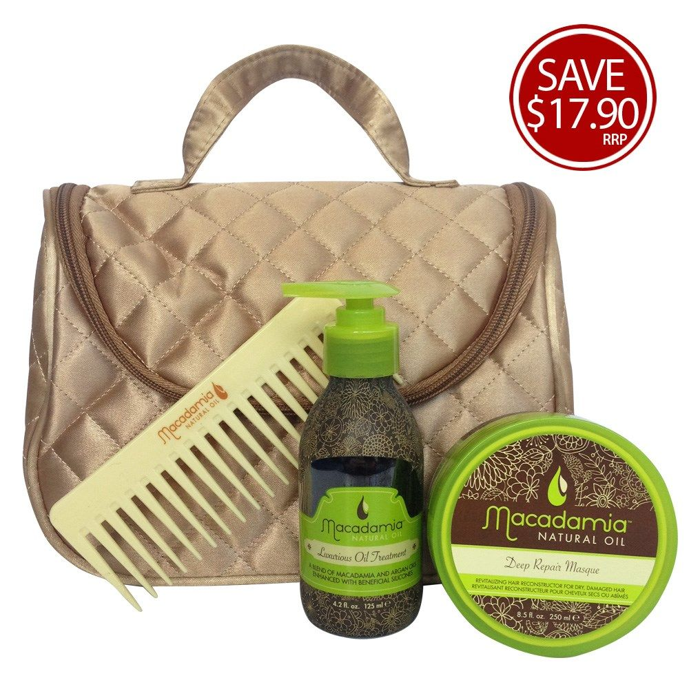 #Macadamia Natural Oil Hair Essentials Gift Pack | RRP $69.95 | A Luxurious #gift for a loved one this #Christmas