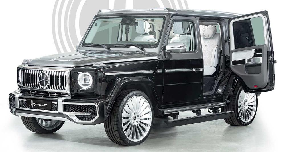 مرسيدس بنز التيميت أتش جي 2021 الجديدة أفخم جي كلاس على الاطلاق من هوفلي ديزاين موقع ويلز Mercedes Benz G Class Benz G Class G Class