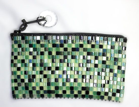 Beaded iPhone Purse - 1,000 Tilas Sewn Together!
