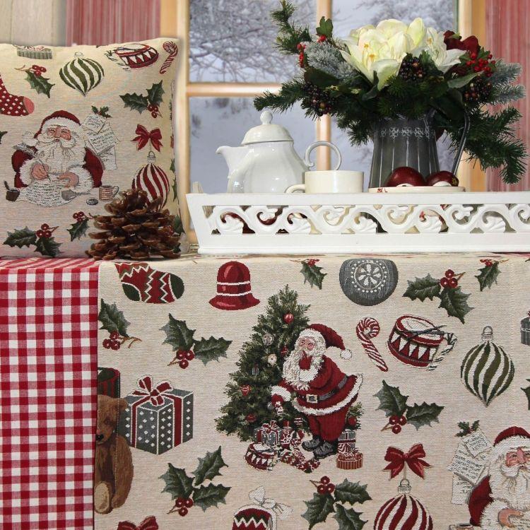 Tischläufer Weihnachten SANTA & FRIENDS von Sander