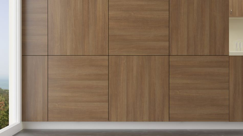 Light Brown Textured Ash Wood Wall Paneling Modern Wall Cladding Wood Cladding Interior