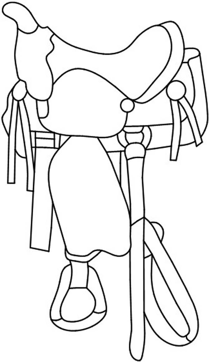 Western saddle pattern Animals