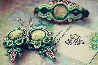 Sady šperkov - Soutache set