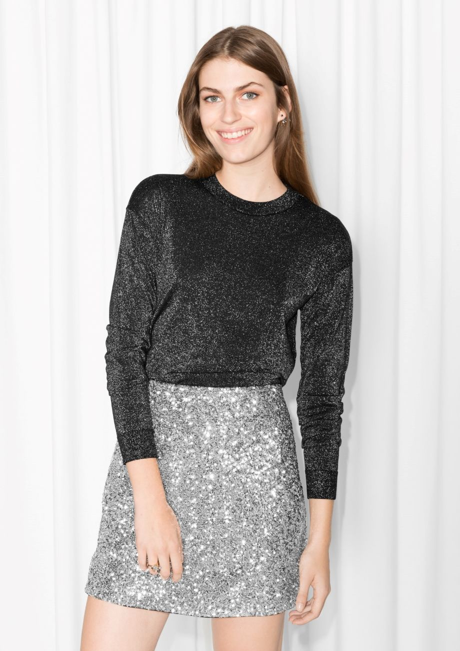 Amp Other Stories Image 1 Of Sparkling Merino Wool Sweater