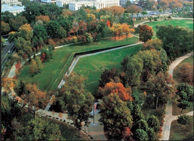 High Quality Vietnam Veterans Memorial Designed By Maya Lin Born In Athens, Ohio.