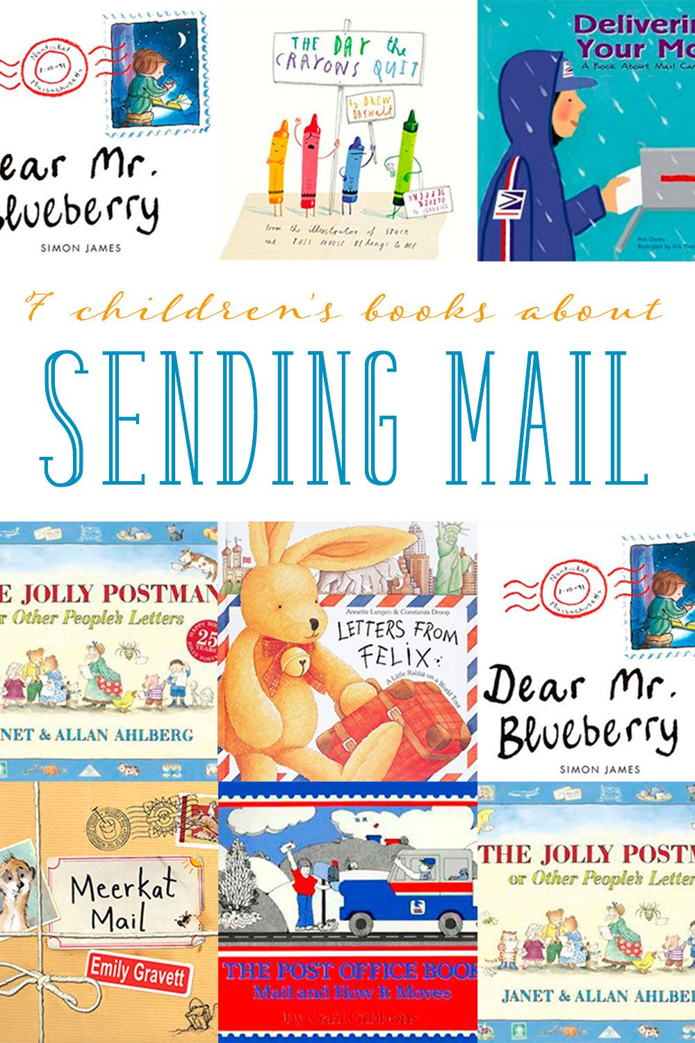 ChildrenS Books About Sending Mail  Activities Child And Books