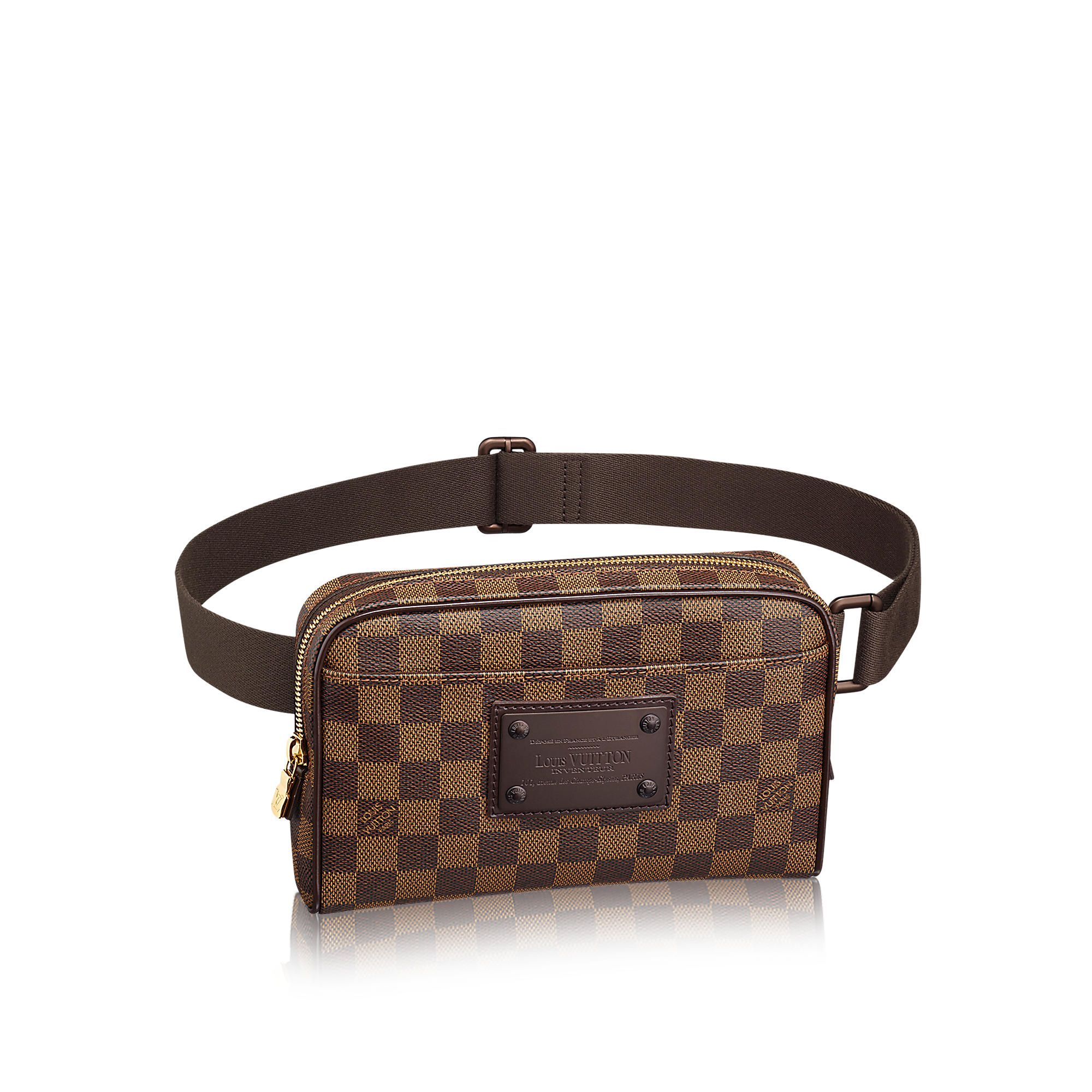 8cf59a62bff9 Discover Louis Vuitton Bum Bag Brooklyn via Louis Vuitton
